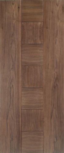 Internal Walnut Catalonia Half Hour Fire Rated Door